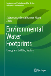 Environmental Water Footprints - Energy and Building Sectors