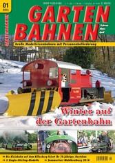GARTENBAHNEN 01/2015 - Winter auf der Gartenbahn
