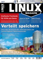 Linux Magazin - 02/2017: Verteilt speichern