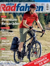 aktiv Radfahren 03/2017 - Reise: Jakobsweg, Ost...