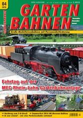 GARTENBAHNEN 04/2016 - Fahrtag auf der MEC Rhei...