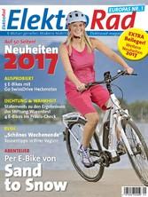 ElektroRad 04/2016 - Per E-Bike von Sand to Snow