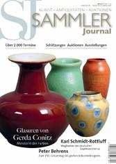 Sammler Journal 04/2018 - Glasuren von Gerda Co...