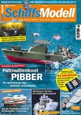 SchiffsModell 06/2015 - Patrouillenboot Pibber