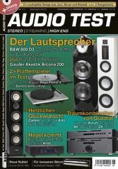 AUDIO TEST 06/2017 - Der Lautsprecher: B&W 800 D3