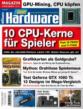 PC Games Hardware Magazin 08/2017