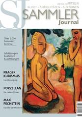 Sammler Journal 08/2017 - Prager Kubismus