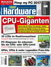 PC Games Hardware Magazin 11/2017