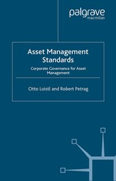 Asset Management Standards Corporate Governance for Asset Management