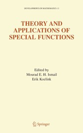 Theory and Applications of Special Functions A Volume Dedicated to Mizan Rahman