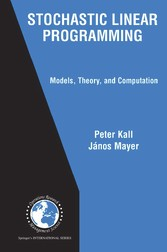 Stochastic Linear Programming Models, Theory, and Computation