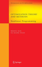 Optimization Theory and Methods Nonlinear Programming