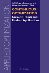 Continuous Optimization Current Trends and Modern Applications