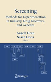 Screening Methods for Experimentation in Industry, Drug Discovery, and Genetics