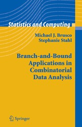 Branch-and-Bound Applications in Combinatorial Data Analysis