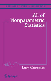 All of Nonparametric Statistics A Concise Course in Nonparametric Statistical Inference