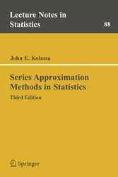 Series Approximation Methods in Statistics