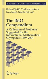 The IMO Compendium A Collection of Problems Suggested for The International Mathematical Olympiads: 1959-2004