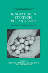 Innovation in Strategic Philanthropy Local and Global Perspectives