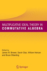 Multiplicative Ideal Theory in Commutative Algebra A Tribute to the Work of Robert Gilmer