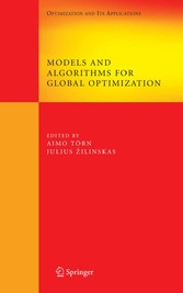 Models and Algorithms for Global Optimization Essays Dedicated to Antanas ilinskas on the Occasion of His 60th Birthday
