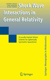 Shock Wave Interactions in General Relativity A Locally Inertial Glimm Scheme for Spherically Symmetric Spacetimes