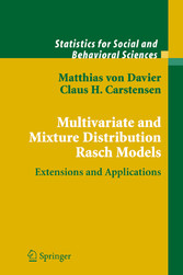 Multivariate and Mixture Distribution Rasch Models Extensions and Applications