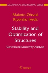 Stability and Optimization of Structures Generalized Sensitivity Analysis
