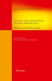 Scalar and Asymptotic Scalar Derivatives Theory and Applications