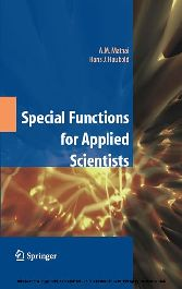 Special Functions for Applied Scientists