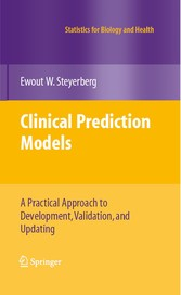 Clinical Prediction Models A Practical Approach to Development, Validation, and Updating