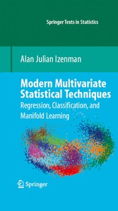 Modern Multivariate Statistical Techniques Regression, Classification, and Manifold Learning