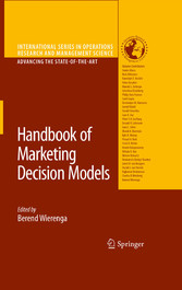 Handbook of Marketing Decision Models