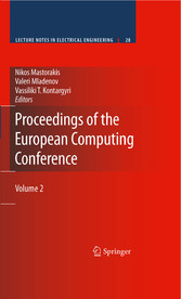 Proceedings of the European Computing Conference Volume 2