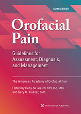 Orofacial Pain Guidelines for Assessment, Diagnosis, and Management