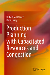 Production Planning with Capacitated Resources and Congestion