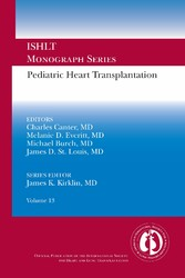 Pediatric Heart Transplantation ISHLT Monograph Series, Volume 13