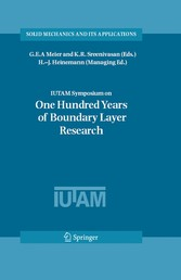 IUTAM Symposium on One Hundred Years of Boundary Layer Research Proceedings of the IUTAM Symposium held at DLR-Göttingen, Germany, August 12-14, 2004