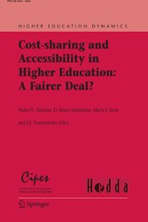 Cost-sharing and Accessibility in Higher Education: A Fairer Deal? A Fairer Deal? (Higher Education Dynamics, Vol 14)