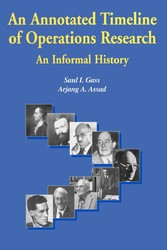 An Annotated Timeline of Operations Research: An Informal History - An Informal History
