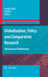 Globalisation, Policy and Comparative Research Discourses of Globalisation