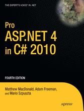 Pro ASP NET 4 in C# 2010 - Shop | Deutscher Apotheker Verlag