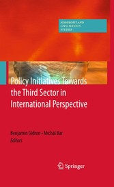 Policy Initiatives Towards the Third Sector in International Perspective