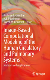 Image-Based Computational Modeling of the Human Circulatory and Pulmonary Systems Methods and Applications