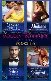 Modern Romance June 2017 Books 5 - 8: Her Sinful Secret