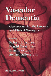 Vascular Dementia Cerebrovascular Mechanisms and Clinical Management