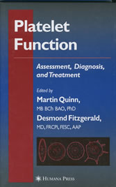 Platelet Function Assessment, Diagnosis, and Treatment