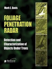 Foliage Penetration Radar Detection and Characterization of Objects Under Trees