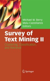 Survey of Text Mining II Clustering, Classification, and Retrieval