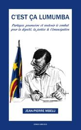'est ça Lumumba 'émancipation